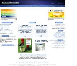 CGD website screenshot