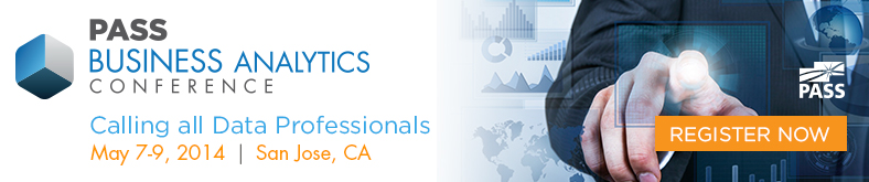 Discount Code for PASS Business Analytics Conference 2014