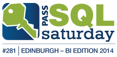 Speaking at SQLSaturday Edinburgh (The very first European Business Intelligence Edition)