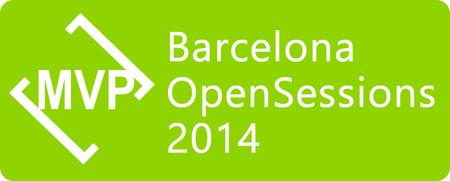Presenting at Microsoft MVP OpenSessions 2014 Barcelona