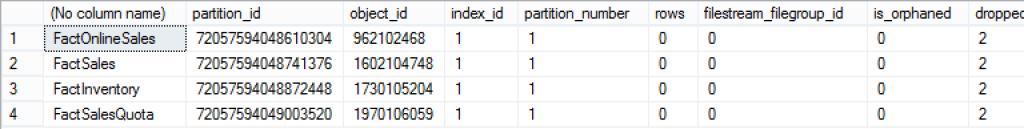 Listing Default Deleted Bitmaps