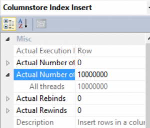 Serial Insertion Properties SQL Server 2016