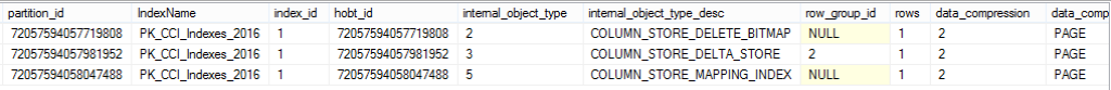 Sys.Internal_Partitions for NC Indexes over CCI, part 3 - Mapping Index