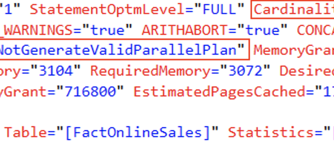 SQL Server 2019: Session Context & Parallel Plans