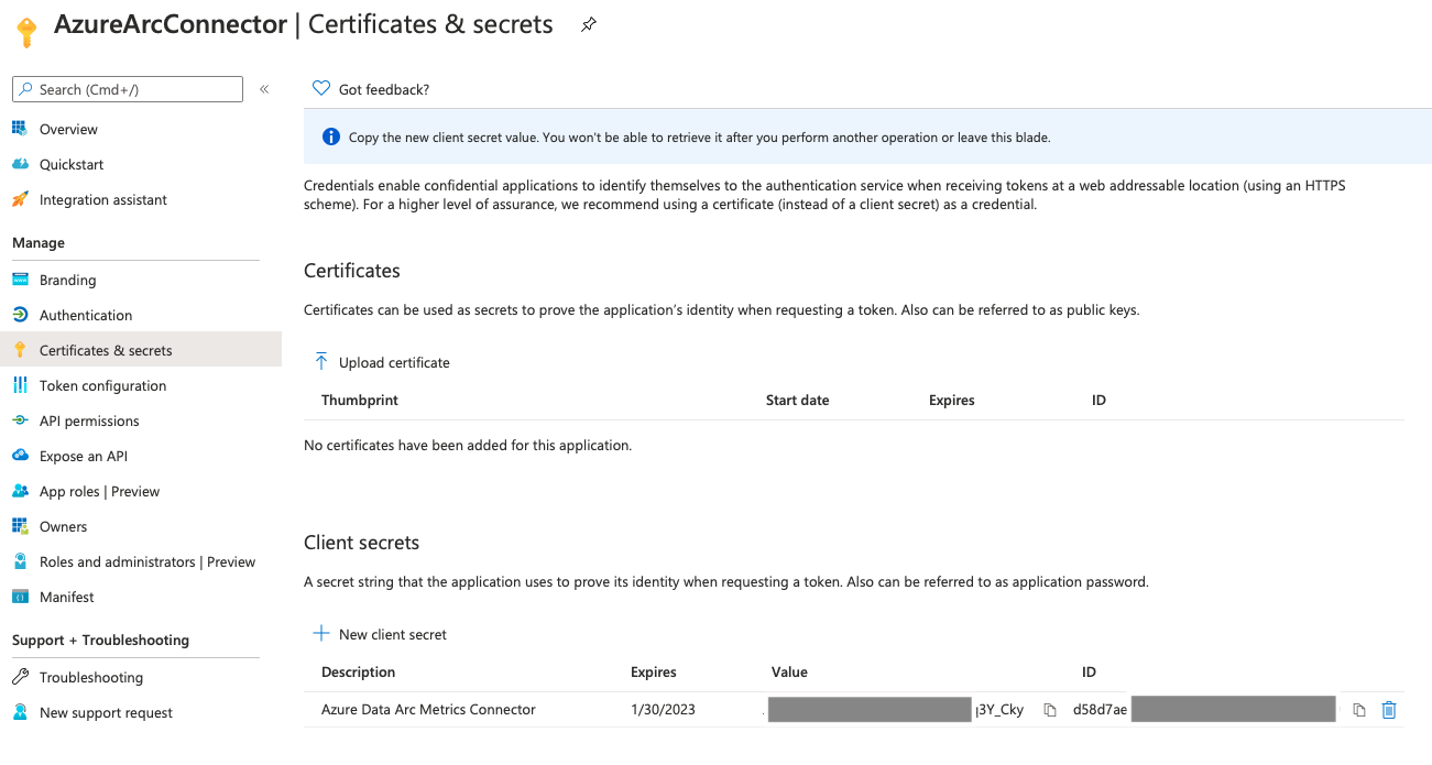 Azure Arc for Data Services, part 5 – Service Principals for the Direct Mode