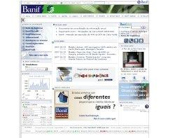 Banif website screenshot