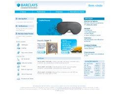 Barclays website screenshot