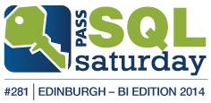 Speaking at SQLSaturday Edinburgh (The very first European Business Intelligence Edition)