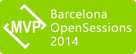 Presenting at Microsoft MVP OpenSessions 2014 Barcelona