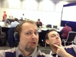 me & Scott Stauffer at the Speaker Room