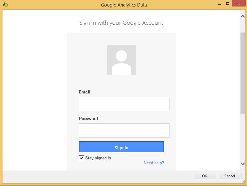 Google Analytics for SSIS (SQL Server Integration Services
