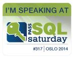Speaking at SQLSaturday Oslo, Norway 2014