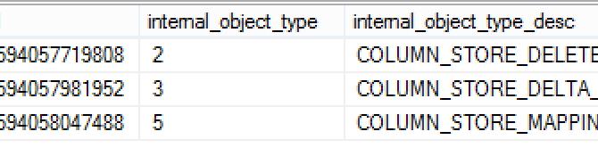 "Columnstore Indexes – part 65 (""Clustered Columnstore Improvements in SQL Server 2016"")"
