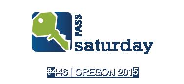 Speaking at SQLSaturday #446, Oregon 2015