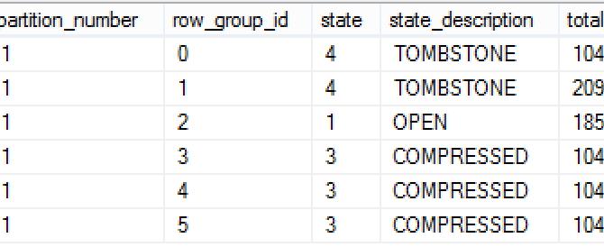 "Columnstore Indexes – part 73 (""Big Delta-Stores with Nonclustered Columnstore"")"