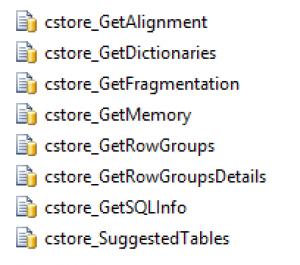 CISL - version 104 list