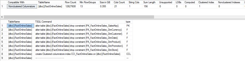 suugested_tables - t-sql script