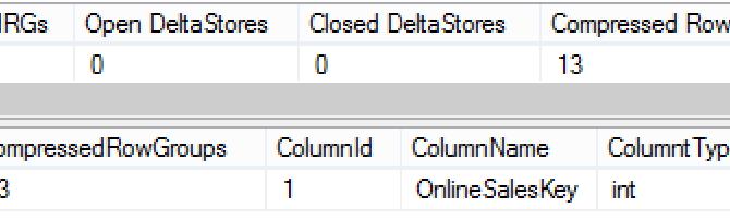 CISL 1.1.0: cstore_doMaintenance  (Columnstore Maintenace Solution Explained)