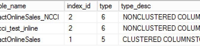 "Columnstore Indexes – part 76 (""Compression Delay"")"
