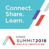 Speaking at PASS Summit 2018