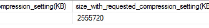 "Columnstore Indexes – part 125 (""Estimate Columnstore Compression as a System Stored Proc"")"